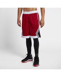 d843cfd606 Nike Jordan Sportswear Diamond Washed Fleece Shorts in Gray for Men - Lyst