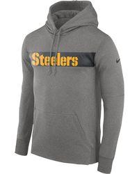 031c5f5b Nike Men'S Pittsburgh Steelers Reflective Ko Hoodie in Black for Men ...