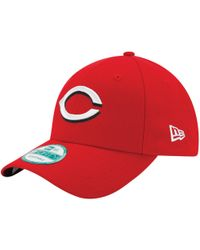 low priced 82650 1e1ac KTZ Cincinnati Reds Classic Canvas 9fifty Snapback Cap in Red for Men - Lyst