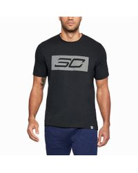 4ed77460 Under Armour The Process Graphic T-shirt in Black for Men - Lyst