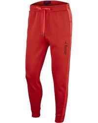 ed150eca79c Nike Air Jordan X Union Vault Flight Hoody in Red for Men - Lyst