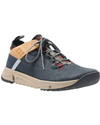 Clarks | Tritrack Rise Mens Sports Trainers | Lyst