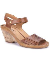 Pikolinos - Capri Womens Wedge Heel Sandals - Lyst