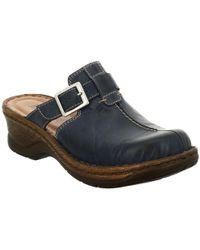 Josef Seibel Rebecca 21 Black Leather Sandals