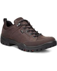 Ecco - Xpedition Iii Nubuck Mens Waterproof Casual Shoes - Lyst