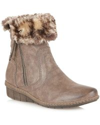 Lotus - Virkat Womens Casual Ankle Boots - Lyst
