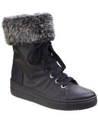 The Flexx - Cuff It Up Womens Lace-up Platform Boots - Lyst
