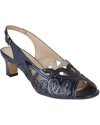 Lotus - Marianna Womens Peep Toe Sling Back Shoes - Lyst