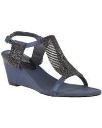 Lotus - Klaudia Womens Wedge Heel Sandals - Lyst