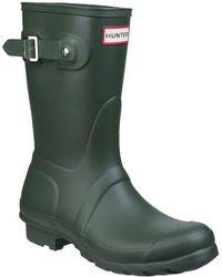 HUNTER - Women's Original Short Wellington Boots - Lyst