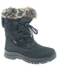 Romika - Arctic Womens Fur Trimmed Waterproof Snow Boots - Lyst