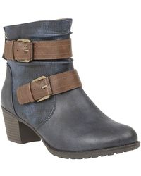 Lotus - Glinda Womens Casual Ankle Boots - Lyst