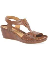 Pikolinos - Magan Womens Wedge Heel Sandals - Lyst