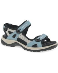 Ecco - Yucatan (off Road) Ladies Sandals - Lyst