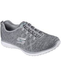 Skechers - Microburst On The Edge Womens Sports Trainers - Lyst