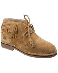 Hush Puppies - Cala Catelyn Womens Suede Ankle Boots - Lyst