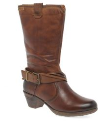 Pikolinos - Geer Womens Calf Boots Women's Boots In Brown - Lyst