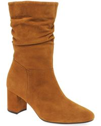 Boots Mid Womens Length Brown Vangola vmOP80yNwn