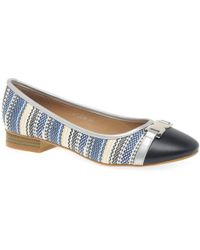 Charles Clinkard - Sally Womens Casual Ballet Court Shoes - Lyst