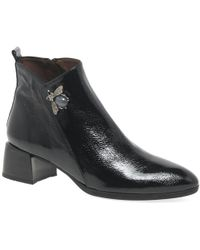 Hispanitas - Ginger Womens Patent Leather Bee Ankle Boots - Lyst