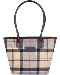 Barbour Dee Tartan Womens Shoulder Bag Lyst
