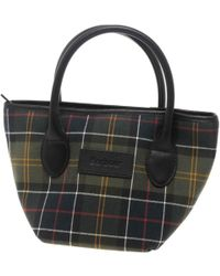 Barbour - Tartan Tote Womens Handbag - Lyst