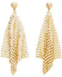 Charlotte Russe - Chain Drop Earrings - Lyst