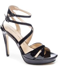 Lyst - Chinese Laundry Highlight Platform Dress Sandals in Natural c593699452cc