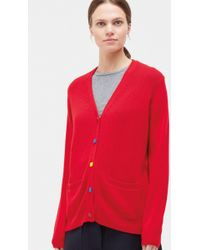 Chinti & Parker - Contrast Elbow-patch Cardigan - Lyst