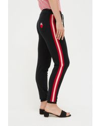 Chinti & Parker - Black Cashmere Strawberry Track Trousers - Lyst
