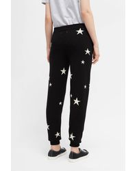 Chinti & Parker - Black Star Cashmere Track Pants 12GG - Lyst