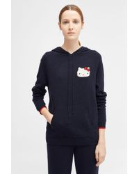 Chinti & Parker - Hello Kitty Patch Hooded Jumper - Lyst
