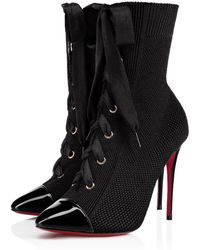 ae13da56066a Lyst - Christian Louboutin Frenchie 100 Over-the-knee Boots in Black