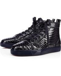christian louboutins sneakers for men