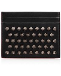 Christian Louboutin - Kios Simple Card Holder - Lyst