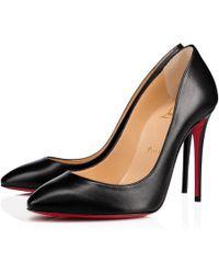 Christian Louboutin - Eloise Nappa Shiny 100 BLACK Nappa - Lyst