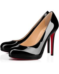 promo code e10a3 4d678 Lyst - Christian Louboutin Yootish Degrade Patent Red Sole ...