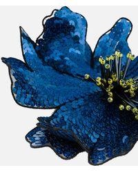 Christopher Kane - Sequin Flower Brooch - Lyst