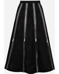 Christopher Kane - Diamond Zip Skirt - Lyst