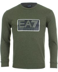 EA7 - Visibility Sweat - Lyst