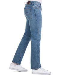 Pretty Green - Straight Leg Jeans In Midwash - Lyst