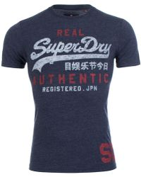 Superdry | Authentic Duo Tee | Lyst