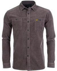 Lyle & Scott - Cord Overshirt - Lyst
