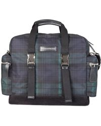 DSquared² - Tartan Duffle Bag - Lyst