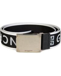 Givenchy - Logo Buckle Belt - Lyst