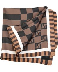 bf51b9b787aa Lyst - Men s Fendi Scarves and handkerchiefs Online Sale