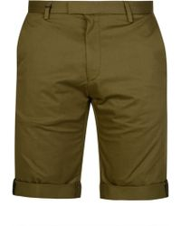 HUGO - Hugo Boss Fitted Shorts - Lyst