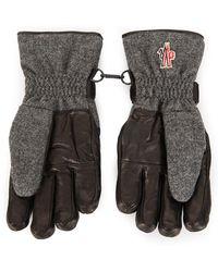 Moncler - Grenoble Velcro Strap Gloves - Lyst