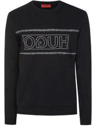 choose genuine coupon code beautiful style Boss Dicago Sweatshirt - Black