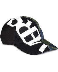 Versace Medusa Logo Leather Show Cap White white in White for Men - Lyst 5179c272c78b
